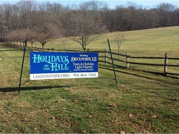 Visit Lasdon Park for Holiday fun, starting this weekend