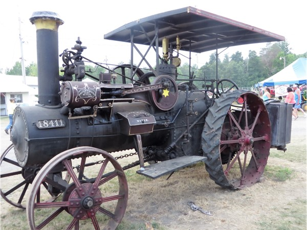 Another Steam Engine tractor at the Canandaigua Steam Engine Festival