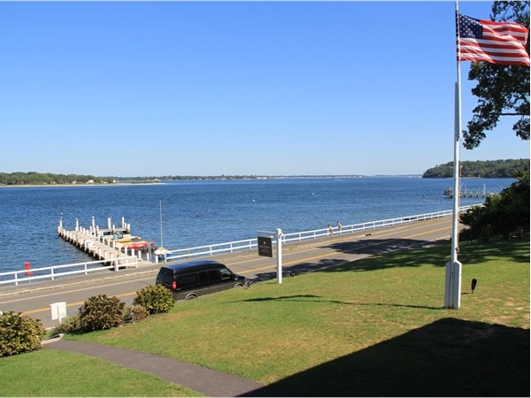 View of Peconic River after a relaxing overnight stay at the Pridwin Beachfront Hotel