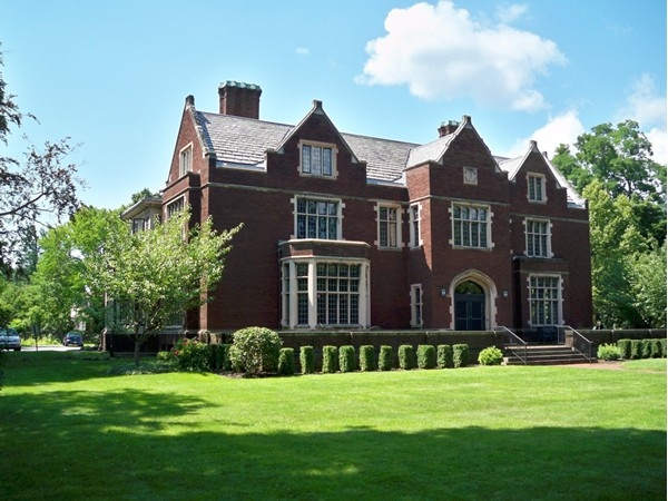 This stately brick mansion at 935 East Avenue is the home of the Episcopal Diocese of Rochester