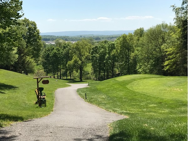 Scenic view from Winding Hills Golf Course