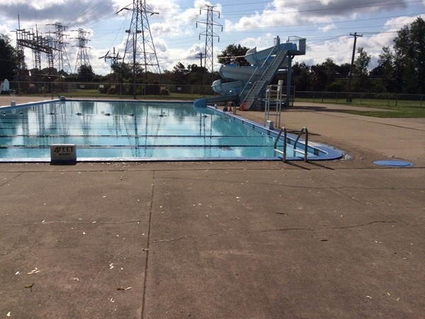 Brighton Pool, 251 Brompton Rd.  Pool Depth ranges from 3 ft. - 11 ft.