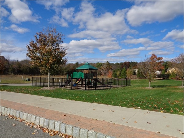 This Toll Brothers New Construction offers a Village Green area and a children's playground