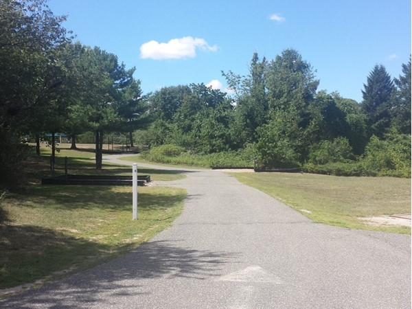 1.2 mile Fitness Trail at the Holtsville Ecology Center - Perfect for walking or running