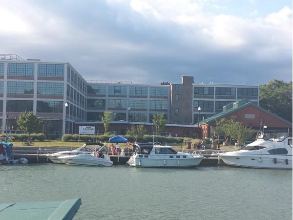 The Remington Lofts building in North Tonawanda. Fantastic views of the Erie Canal