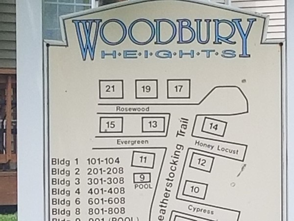 Complex map for Woodbury Heights