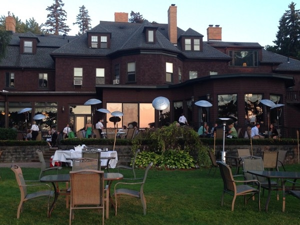 Nothing like fine dining, indoors or out, at the historic Brewster Inn on the lake!