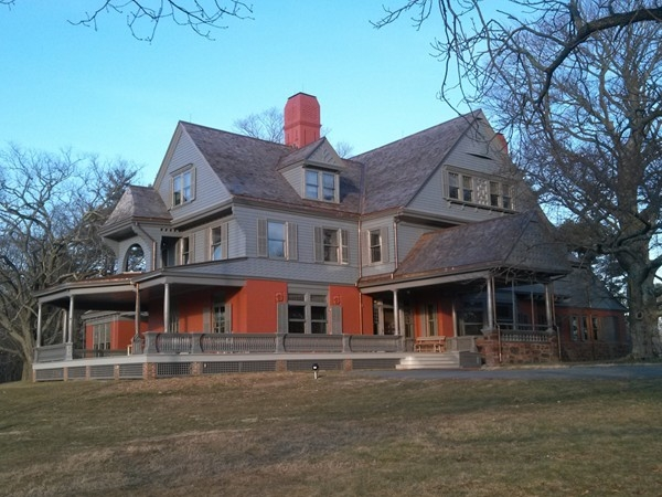 Gold Coast Mansion of Sagamore Hill, summer White House