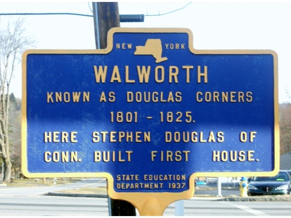 First Settlement Location in Walworth, NY