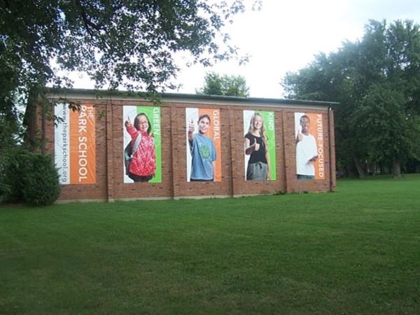 The Park School, Harlem Road, Snyder, New York