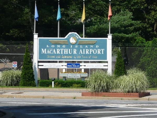 Long Island MacArthur Airport entrance