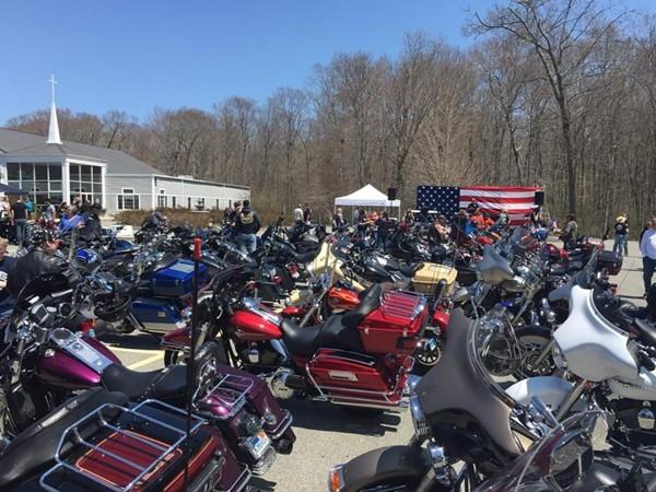 Bikers love Greenport