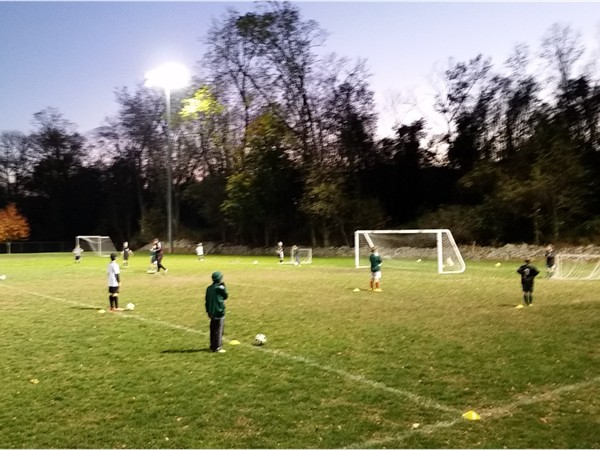 Nightime Soccer Training at Krtisti Babcock Field (fka Mt Airy Sports Park)