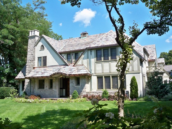 Picturesque English chalet mansion at 1178 East Avenue