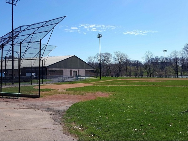 Genesee Valley Park baseball has diamonds, soccer fields, ice skating rink, and two golf courses