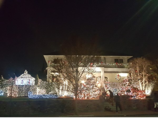 Christmas time in Dyker Heights. Wow!!