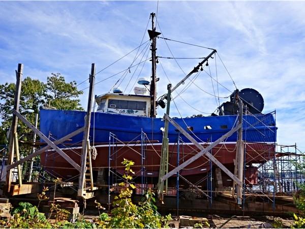 Greenport boat building company