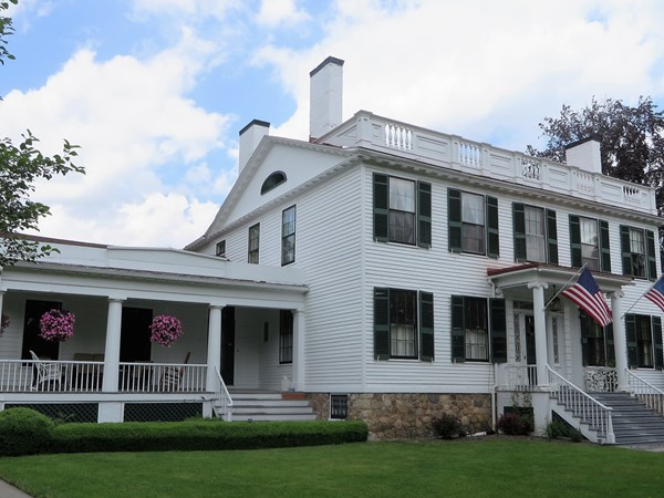 Historic Colonial with four chimneys in Canandaigua