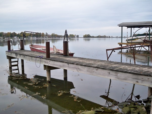 Permanent docks are now becoming the norm on all the lakes and bays