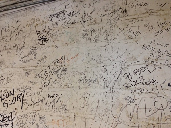 House of Guitars on Titus Ave. Every artist who plays Rochester visits HOG & signs Wall of Fame