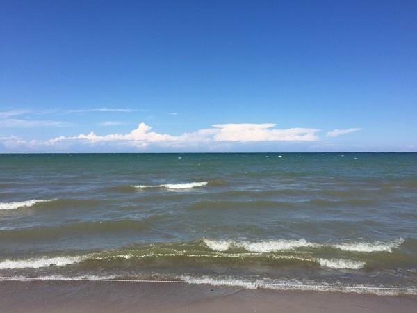 Beautiful Lake Ontario at Durand Eastman Beach