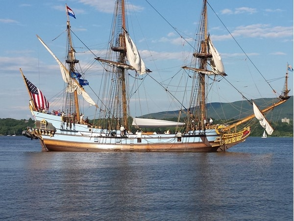 Sail away from the Newburgh Waterfront for a surprise dining experience