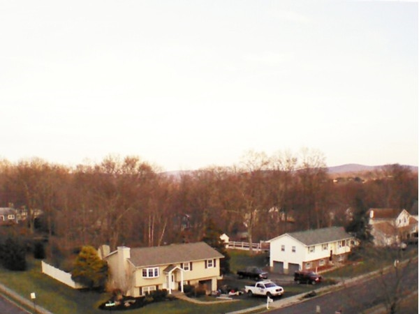 Aerial view of Fredrick Drive in Monroe