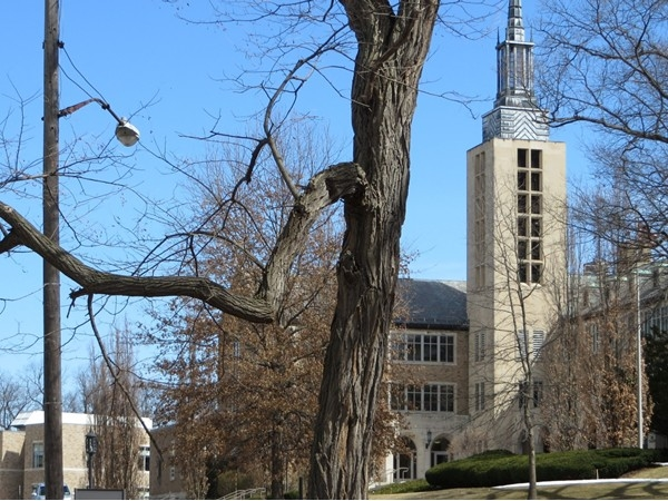 St John Fisher College in Pittsford founded as a men's college in 1948 by the Basilian Fathers
