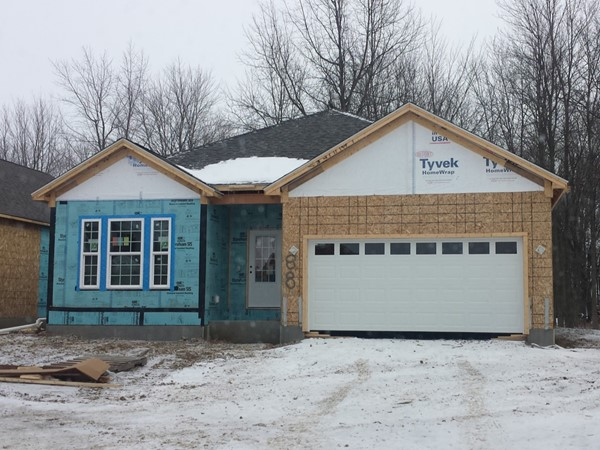 Brand new patio homes for sale in Audubon Landing. Located off N French near Niagara Falls Blvd