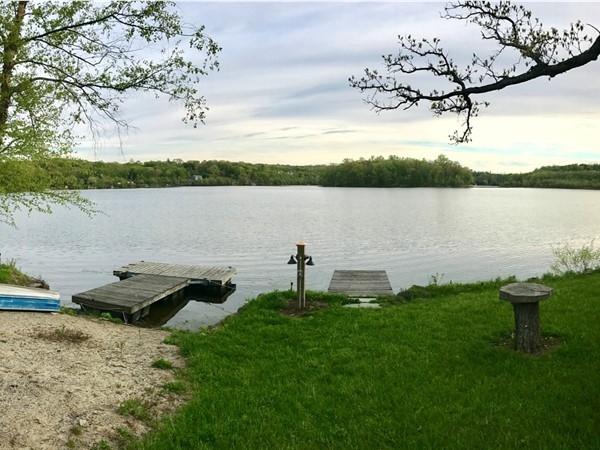 Spring time on Round Lake in Monroe