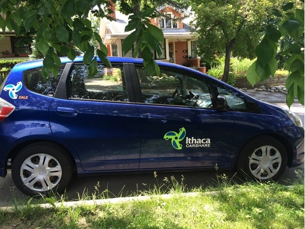 How wonderful! Ithaca shares so much, even their cars