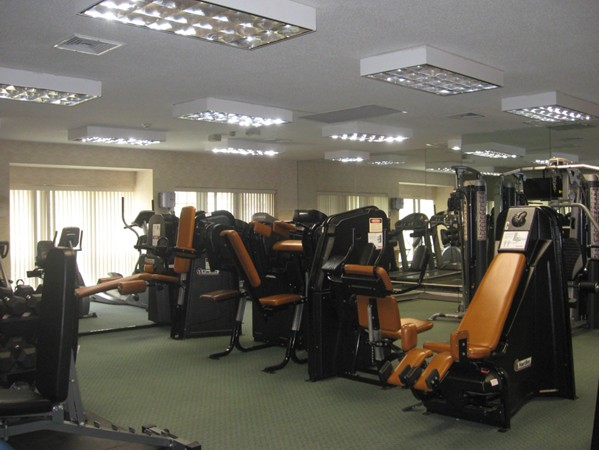 Residents at The Colony enjoy this amazing gym