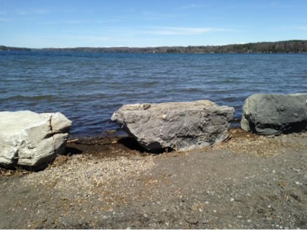 Cazenovia Lake waiting for summer fun