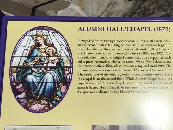Alumni Hall Chapel at Niagara University