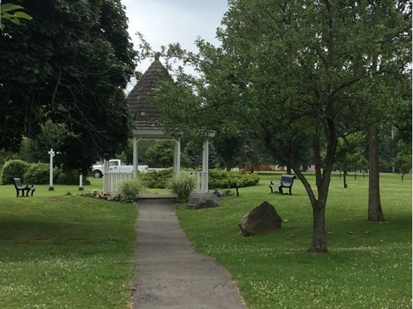 Botanical Gardens Gazebo donated by the Exchange Club of the Tonawandas