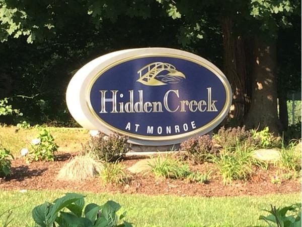 Welcome to Hidden Creek at Monroe