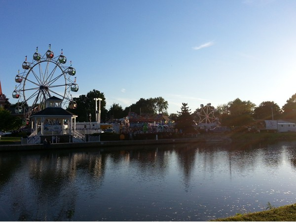 Spencerport Fireman's Carnival - early evening 6/6/14