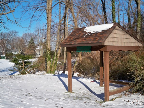 Small park at Forest Lawn off Lake Road near Shipbuilders Creek