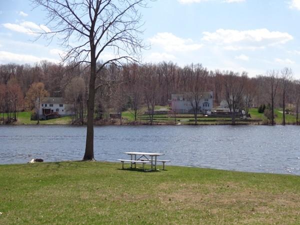 Enjoying a beautiful spring day on Beaver Dam Lake
