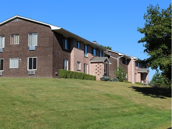 Barnett Hills, garden apartment-style condominiums in Monroe