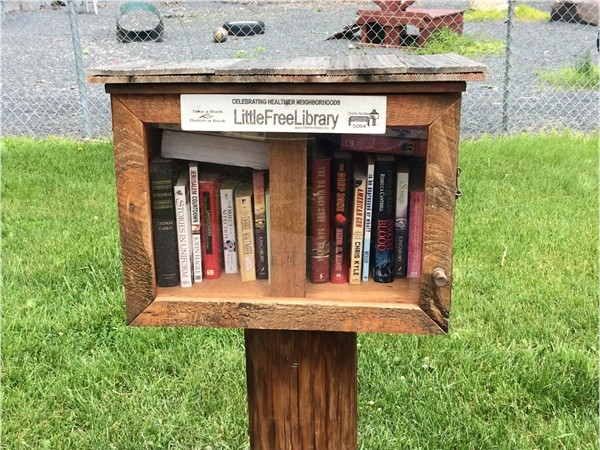Little Free Library near the dog park