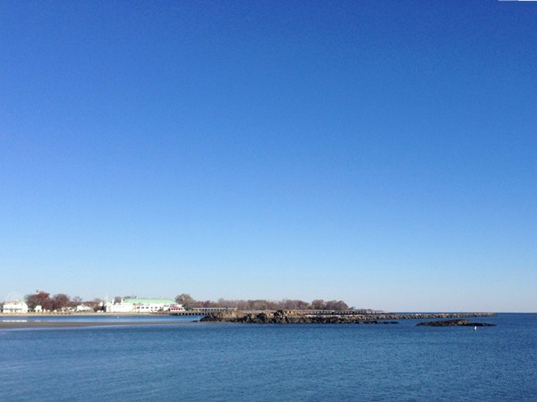 Rye's view of Long Island Sound and Playland