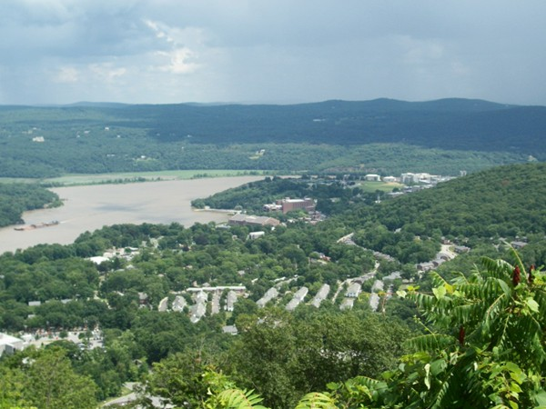 Hudson River at West Point!