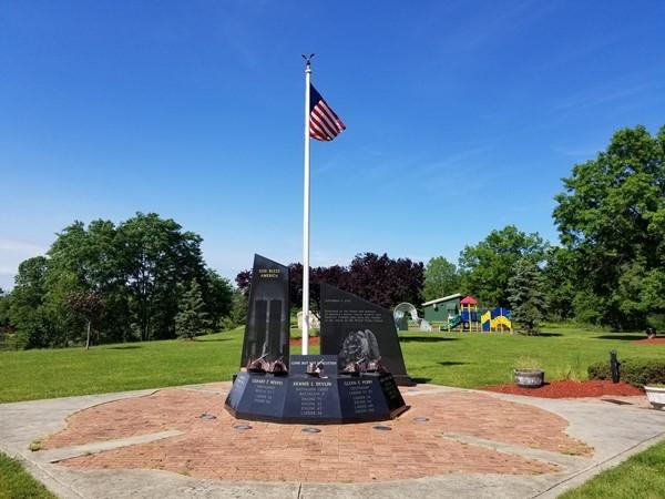 9/11 Memorial at Memorial  Park