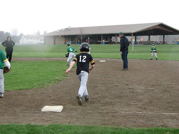 It rained but the action was hot during opening day of ...