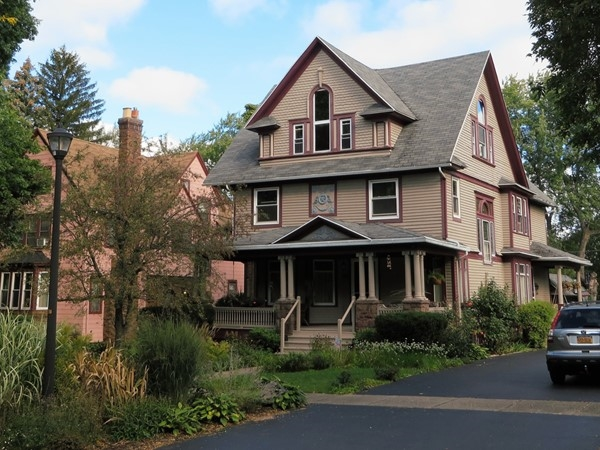 Three-story home on Seneca Parkway off Lake Avenue in Rochester