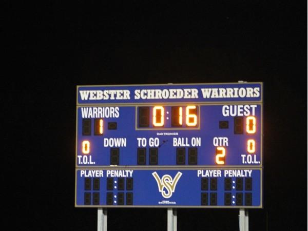 Webster Schroeder Warriors Boys Soccer Sectionals 2012