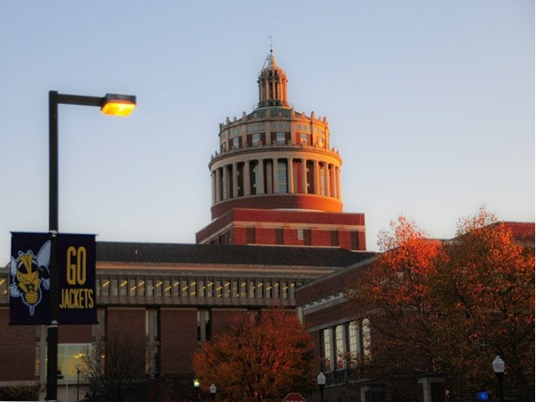 Located on the Genesee River, the University of Rochester campus is simply stunning