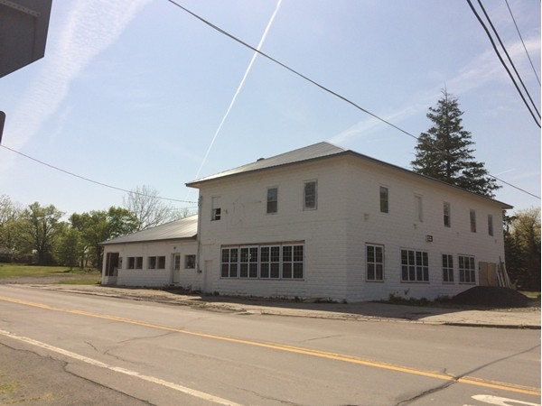Renovation project - Soon to be the Corner Store at the four corners of King Ferry.