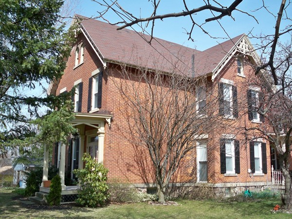 Beautiful brick historic home in Webster. Built in the late 1800's